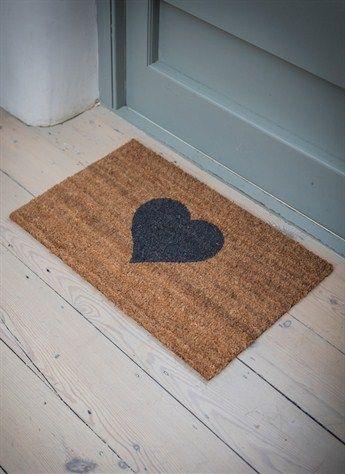 Small Heart Doormat