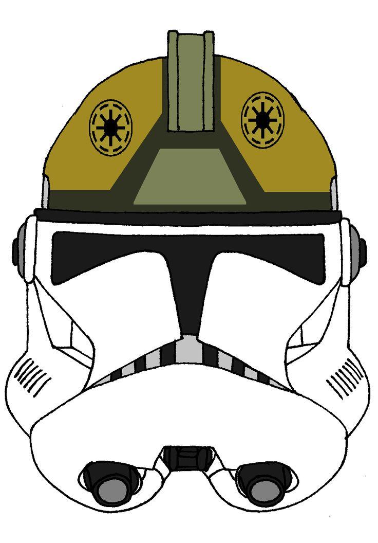 Clone Trooper Gunner S Helmet 1 Clone Trooper Helmets