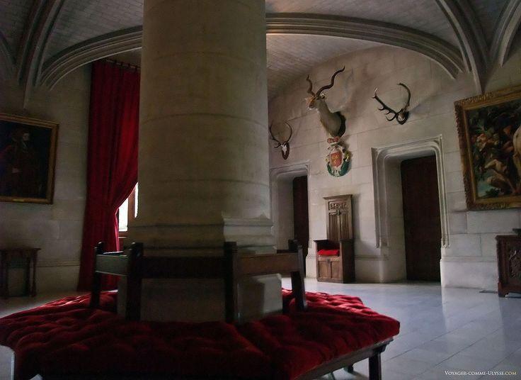 La salle d'attente du Château de Menetou-Salon