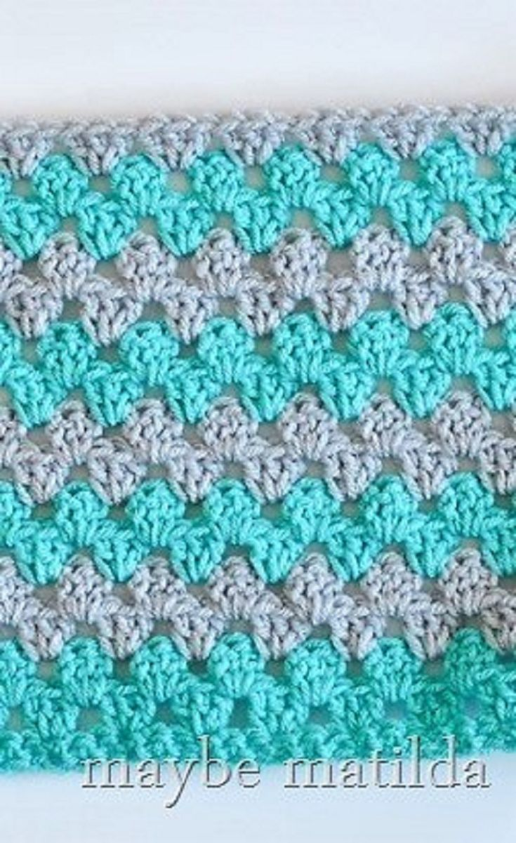 [Free Pattern] Incredibly Fast And Easy Granny Stripe Baby Blanket