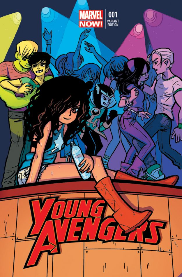 """Get To Know The """"Young Avengers"""" So excited for them to come back!!"""