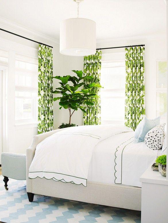 Peter Dunham Fig Leaf Curtains