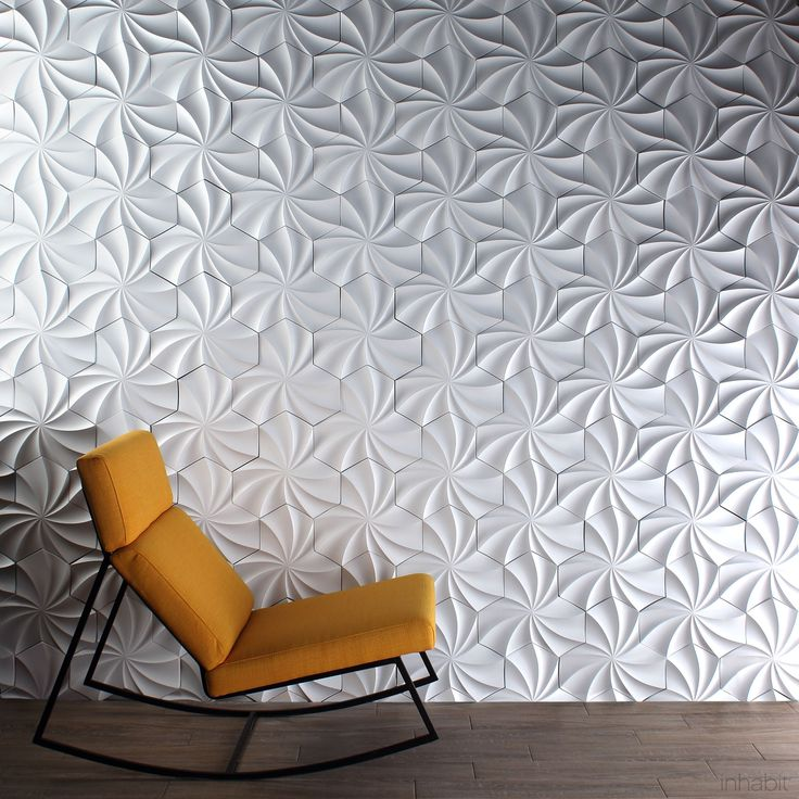 Best 25 3d wall tiles ideas on pinterest for 3d concrete tiles