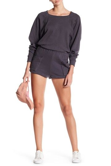 Image of Dress Forum Batwing Sweater Romper