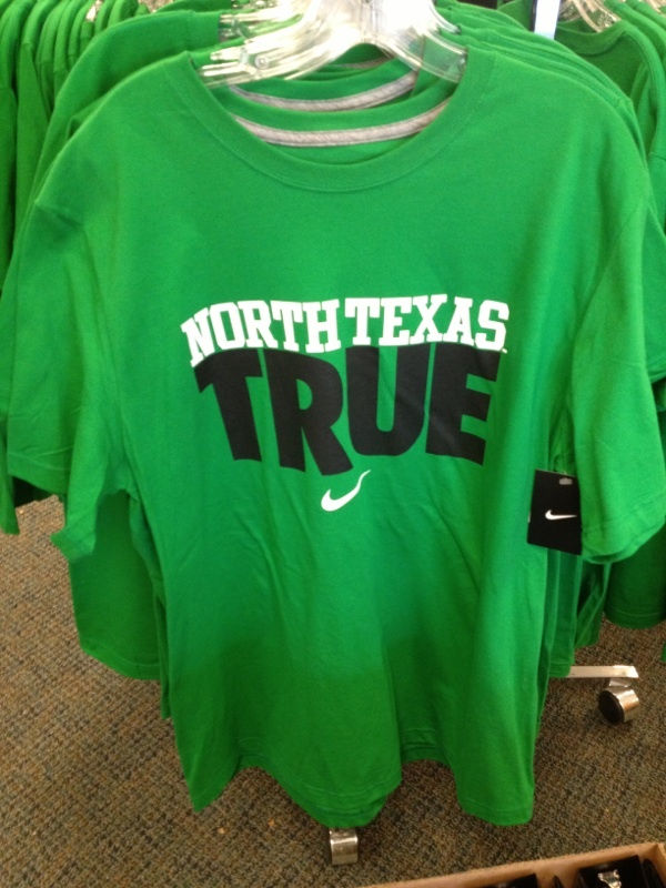 Nike North Texas True 25 buy it at Voertmans Texas, Gameday