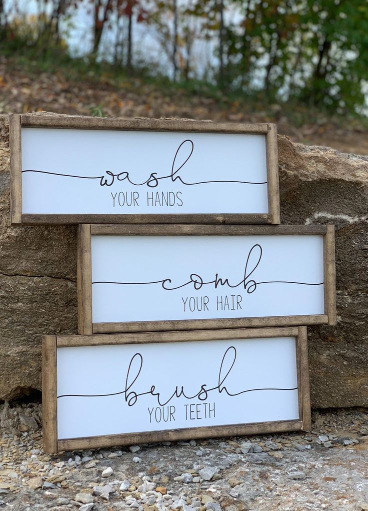 Farmhouse Wall Decor Signs With Quotes Farmhouse Signs