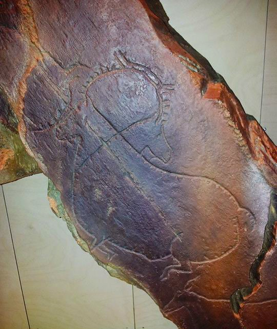 Ancient rock etchings replica, Museu do Côa | via @PortugalConfidential — at Vila Nova De Foz Côa. #CentroPT #Portugal