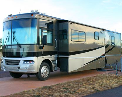 I would love to have an RV when we retire so we could just follow the warm weather year around.