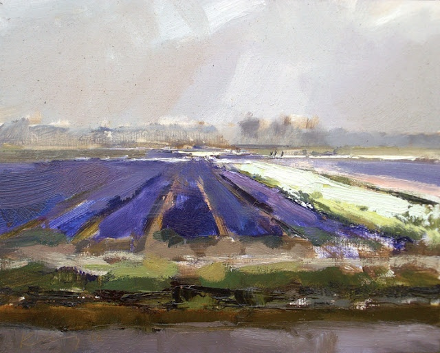 Roos Schuring, outdoor painter in Holland