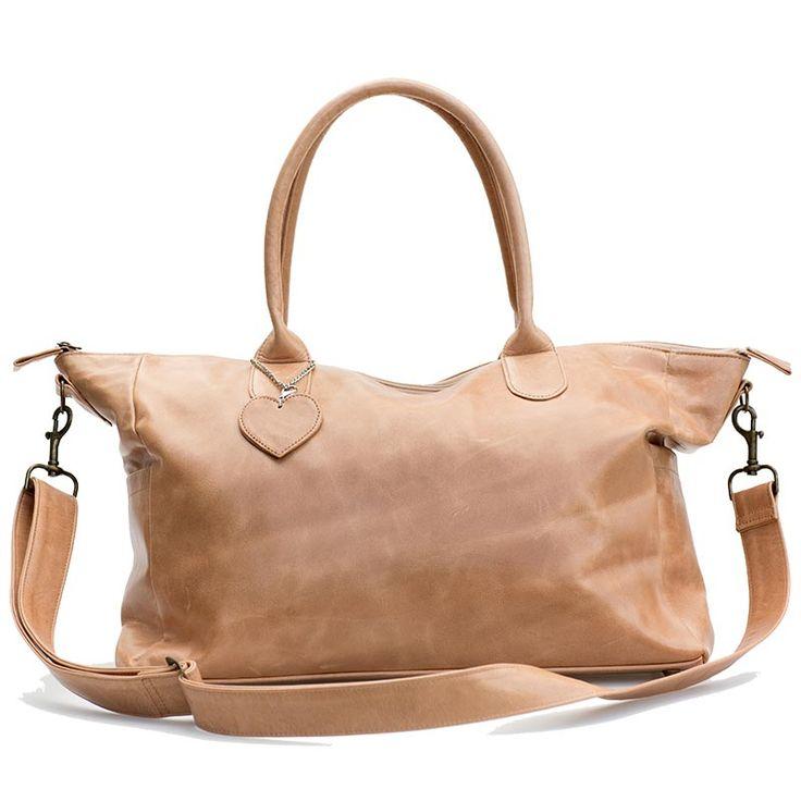Mally Tan Leather Baby bag