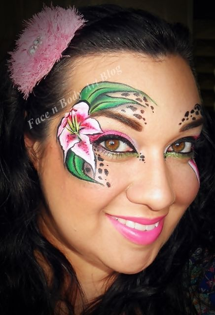 stargazing+lily+eye+makeup.jpg (436×640)