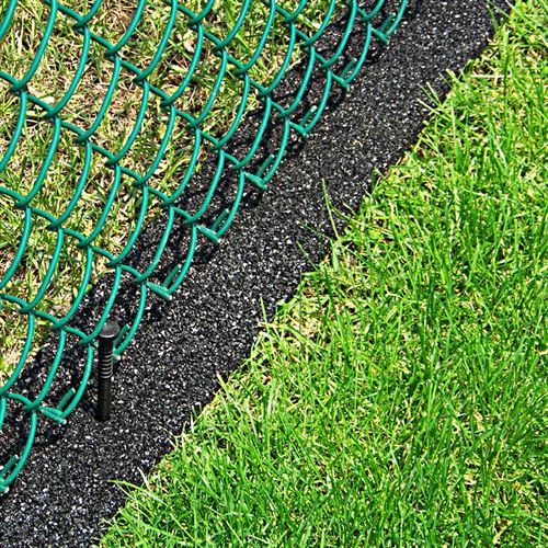 Earth Edge Rubber Edging Roll Low Maintenance Gardens