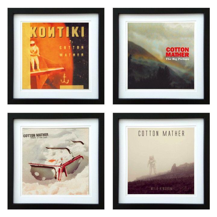 Cotton Mather | Framed Album Art Set of 4 Images | ArtRockStore