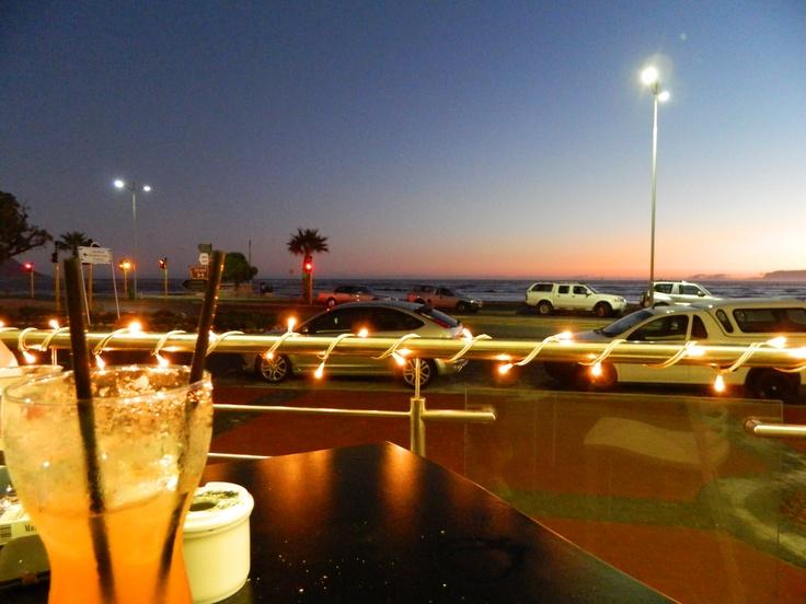 Views from Hibernian Tower's cocktail bar Casa Del Sol - Strand Beach Road