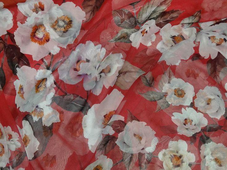 Шифон шелковый с рисунком - итальянские ткани в Ale-ko, страница 6