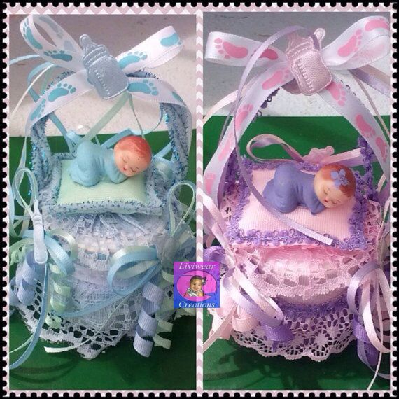 Baby+Shower+Cake+Topper+or+Table+Decoration+for+Boy+or+Girl