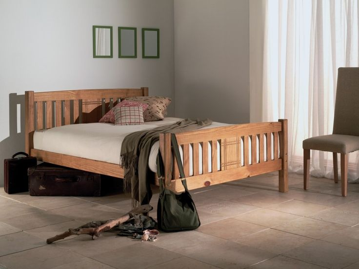The Sedna bed frame comes in a lovely warm shade of golden honey yellow and will suit a variety of traditional and contemporary interiors. The frame has an engraved pattern on the headboard and footboard which enhances its simple beauty.