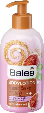 Versüßen Sie sich die tägliche Pflege: Die Balea Bodylotion verwöhnt die Haut durch den einzigartigen Duft nach braunem Zucker und sonnengereiften Feigen....