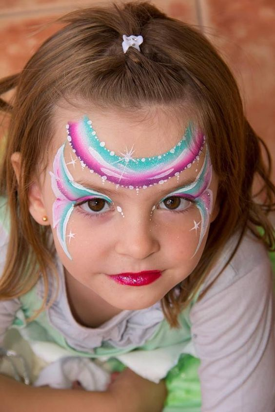 Face Painting Pictures Butterfly