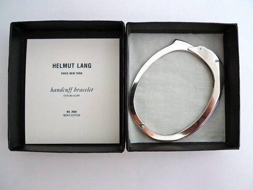 handcuff bracelet, helmut lang: Cuffs Bracelets, Fashion, Helmutlang, Style, Grooms Gifts, Helmut Lang, Handcuff Bracelets, Jewelry, Lang Handcuff