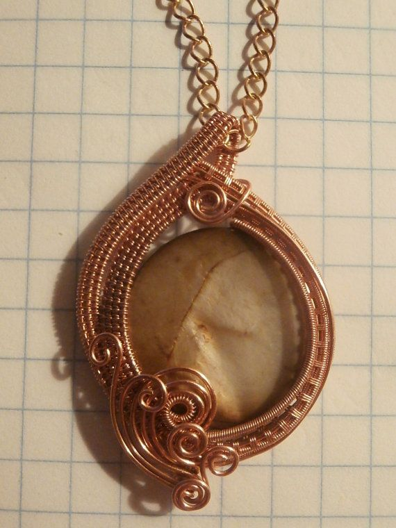 Wire Wrapping TUTORIAL Wire Wrapped Pendant от PerfectlyTwisted