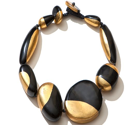 FREEFORM STATEMENT NECKLACE