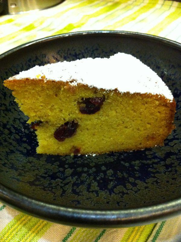 Orange Bean cake