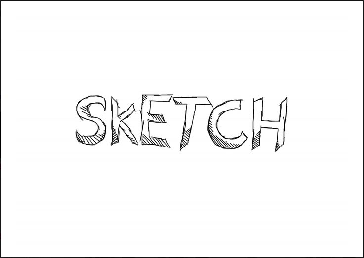meaningful simple sketches draw