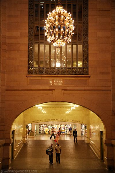 Grand Central Station Terminal - Ramp to the Lower Concourse