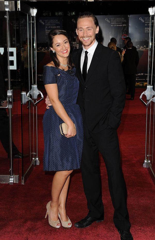 Tom Hiddleston and Susannah Fielding