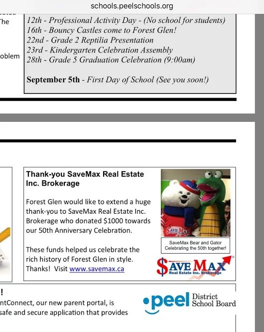 Thanks to Forest Glen Public School for featuring us on the super amazing Peel School Board website: peelschool.org :)