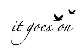 hoping to get this tattooed on the back of my neck :) along with a tiny infinity symbol on my right pinky!