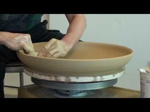 5. Throwing a Large Platter on the Pottery Wheel with Hsin-Chuen Lin. 8 mins.