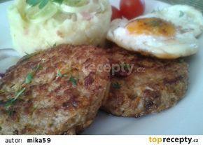 Biftečky z mletého masa a kysaného zelí recept - TopRecepty.cz