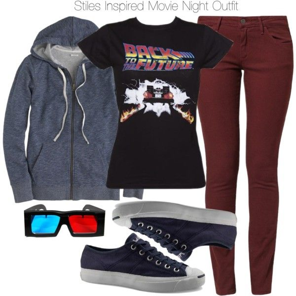 Stiles Inspired Movie Night Outfit