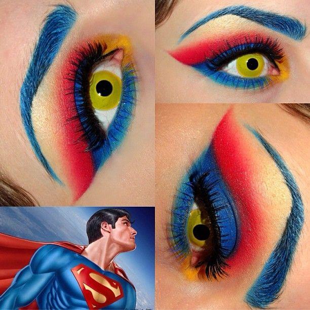 eyeshadow | Superman Eyeshadow - Page 1