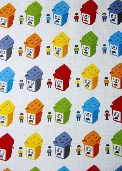 I do actually own this fabric and it is super cute in real life!