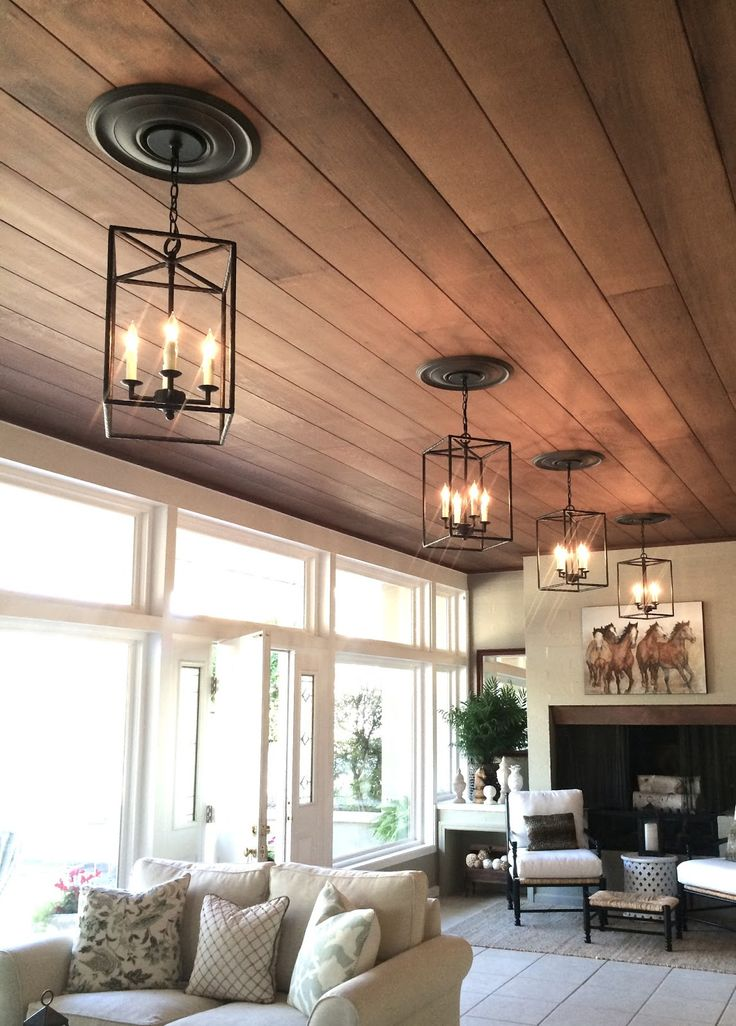 Best 25 Plank Ceiling Ideas On Pinterest
