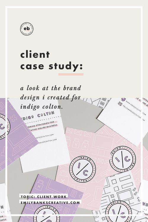 Branding by Emily Banks Creative - Client Case Study: Indigo Colton
