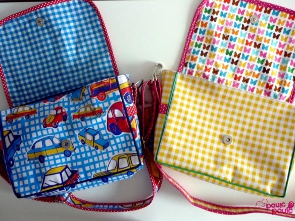 sacs besace pour enfants : tuto photos chez pouic-pouic (mars 2012)