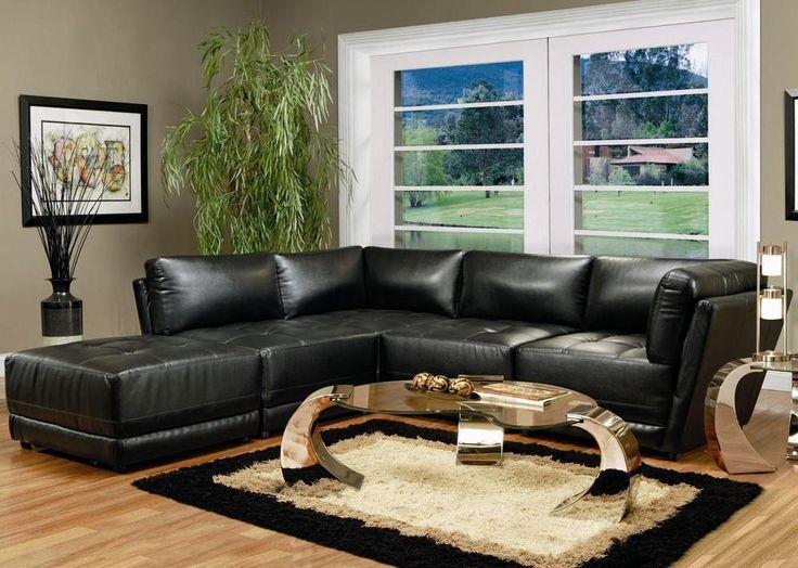 black bonded leather 5 piece modular sectional sofa modern modular sectional sofa bonded leather and sectional sofa