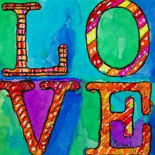 Check out student artwork posted to Artsonia from the Robert Indiana Love project gallery at Cathedral School.
