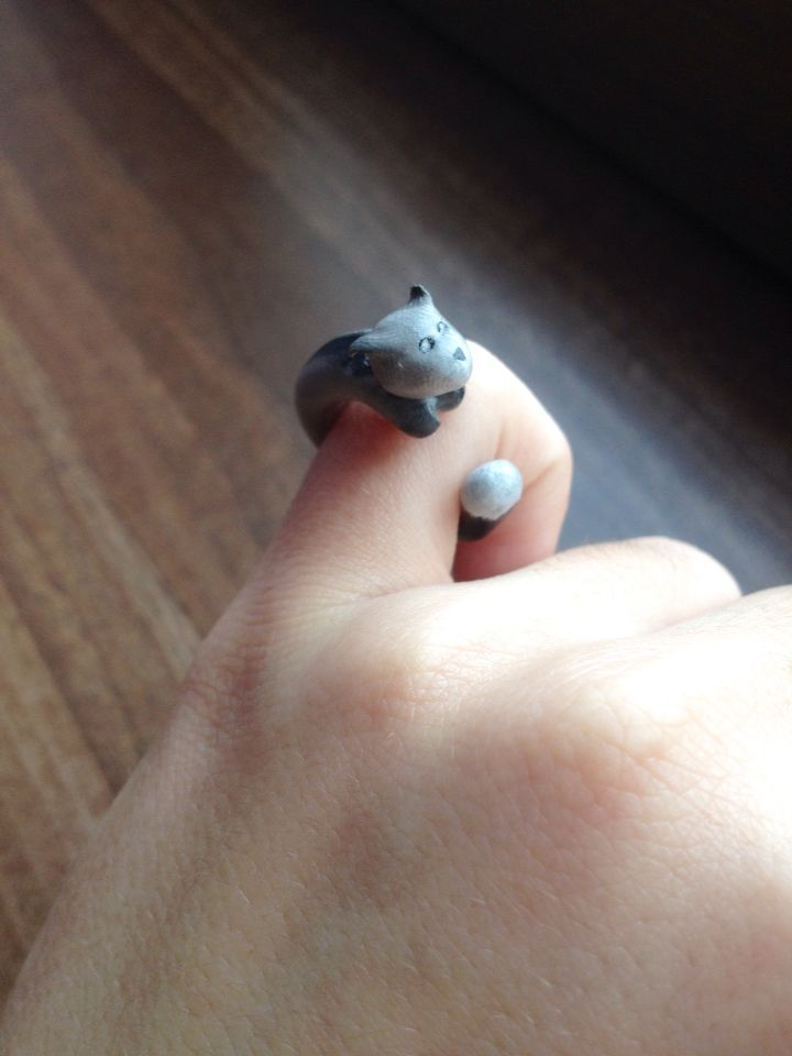Little animal ring - Polymer clay ⭐️
