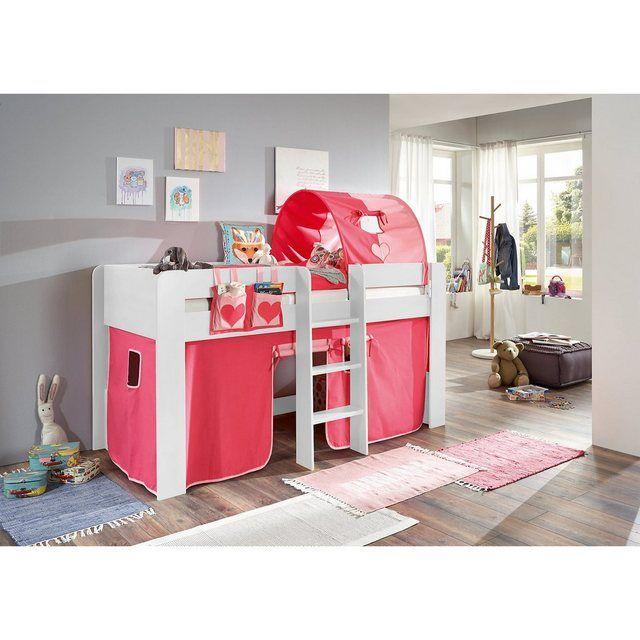 Betttasche Fur Hoch Etagenbett Herz Pink Rosa Etagenbett