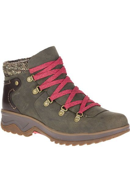 10 Hiking Boots For Outdoor Newbies #refinery29 http://www.refinery29.com/best-womens-hiking-boots#slide-10 Utilize these in the winter for more than just hiking. Their water-proof exterior will keep your feet warm come sleet, rain, or snow.Merrell Eventyr Bluff Waterproof, $170, available at Merrell....