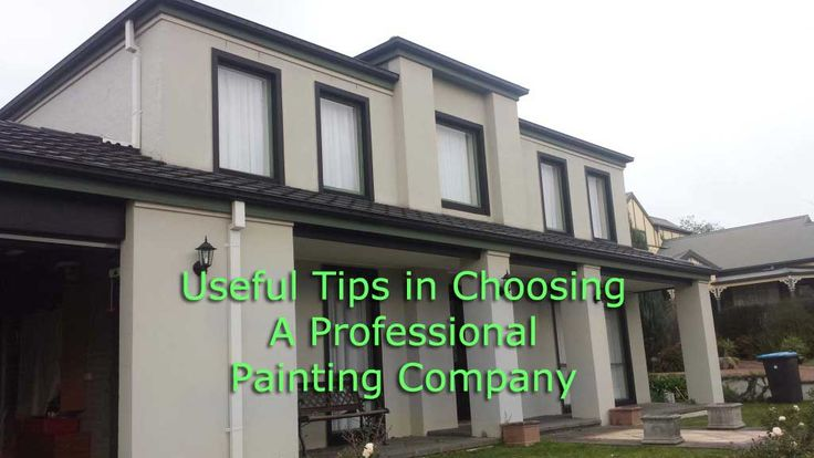 Avoid mistakes and learn what are things to consider in choosing a painting company for your house or business establishments. See http://www.1800allpainting.com.au/choosing-professional-painting-company