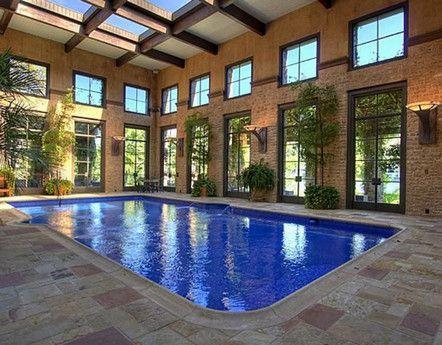indoor pool!Indoor Pools, Texas Style, Indoor Swimming Pools, Dreams Big, Indoor Outdoor Pools, Dreams House, Glasses Wall, Chic Interiors, Glasses Doors