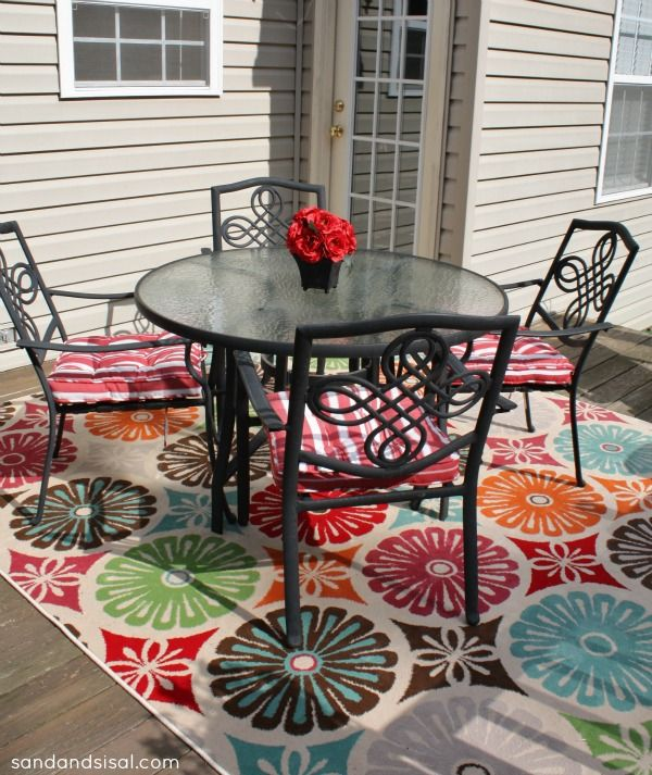 Full Size of Uncategorized:patio u0026 Deck: Cream And Grey Area Rug |  Outdoor … - Outside Rugs For Decks Roselawnlutheran