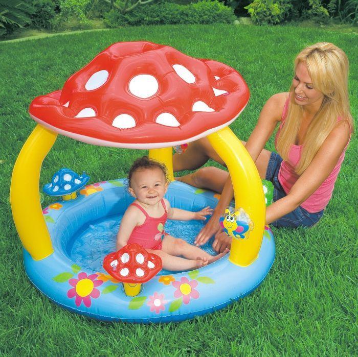 Mushroom Baby Paddling Pool - 57407