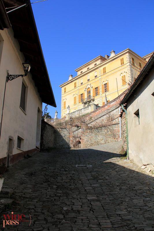Wine Pass - Canelli - Cobblestoned streets Piemonte, Italy